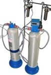 Deionized water recovery system PINEREC