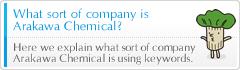 What sort of company is Arakawa Chemical?